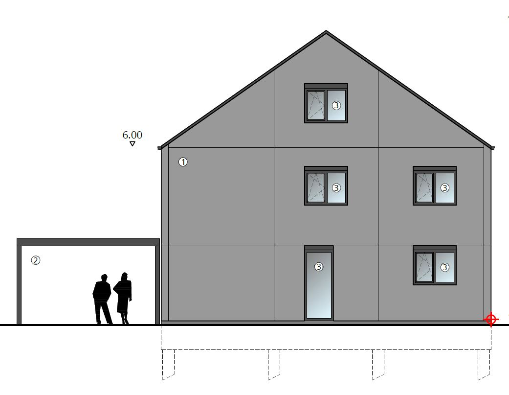 Nieuw Project: Staalbouwwoning te Erpe-Mere (detail 3)