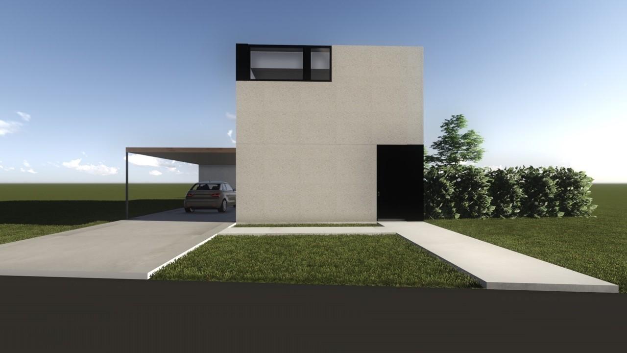 Nieuw project: staalbouwwoning te Roeselare (Foto 1)